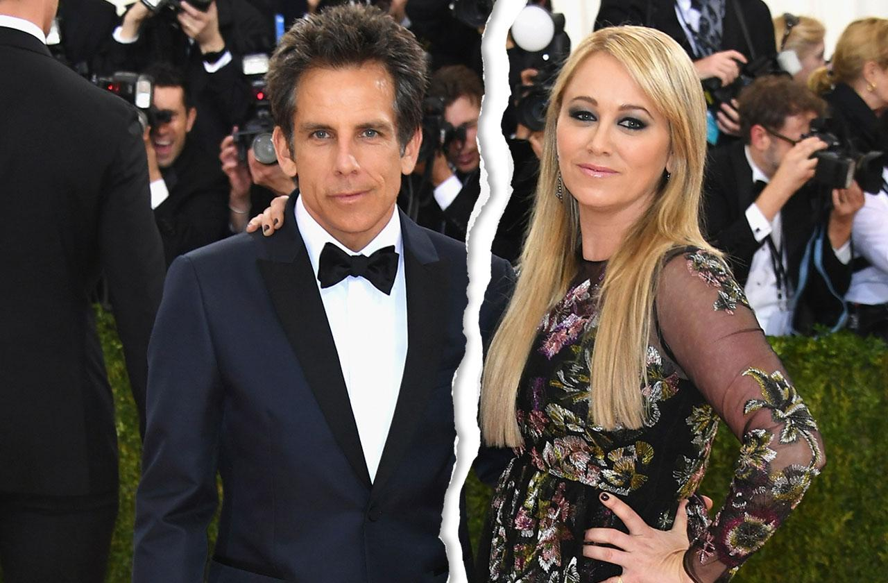 Ben Stiller Christine Taylor Divorce