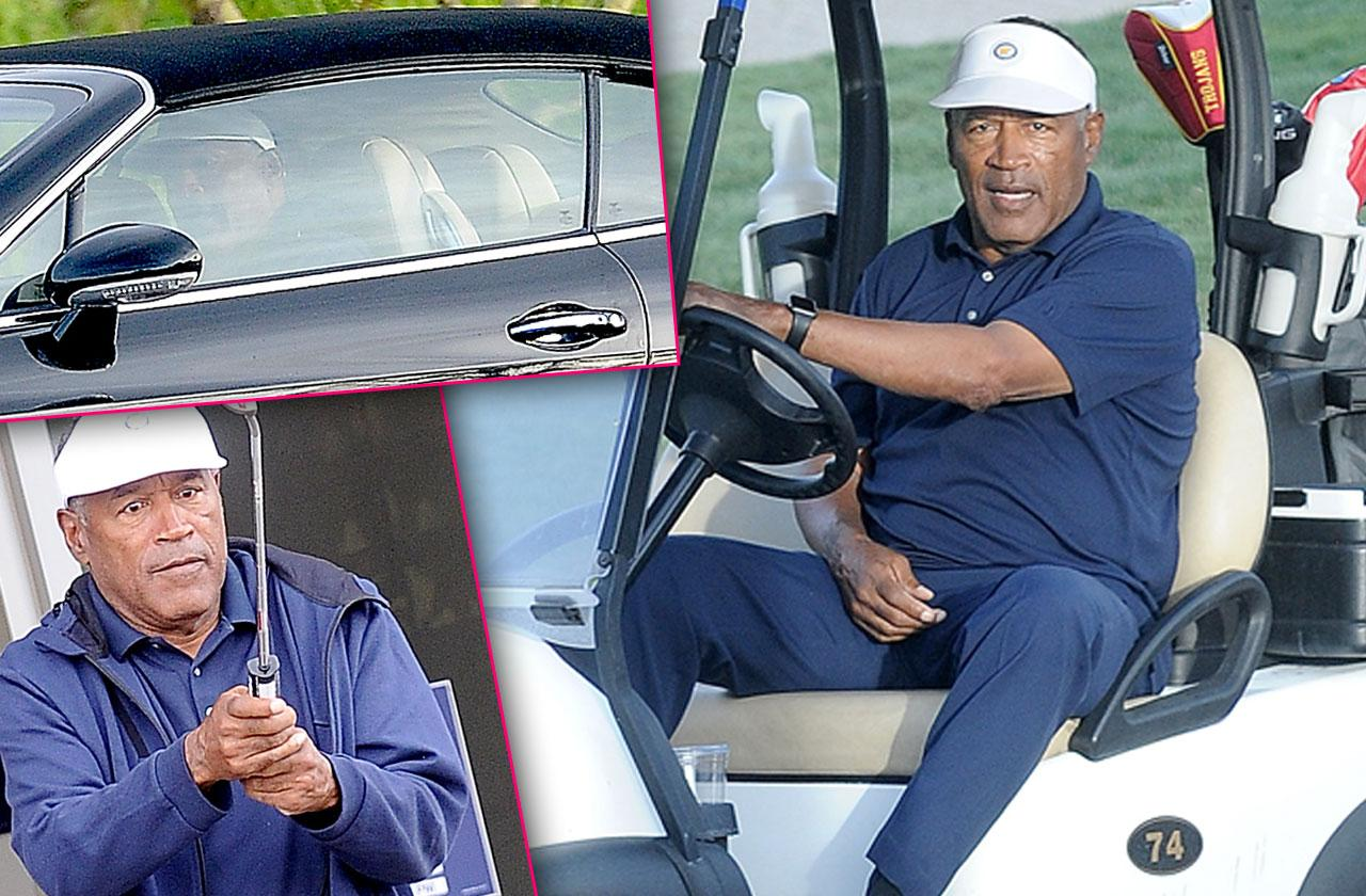 //oj simpson broke disabled liar drives bentley owes millions PP