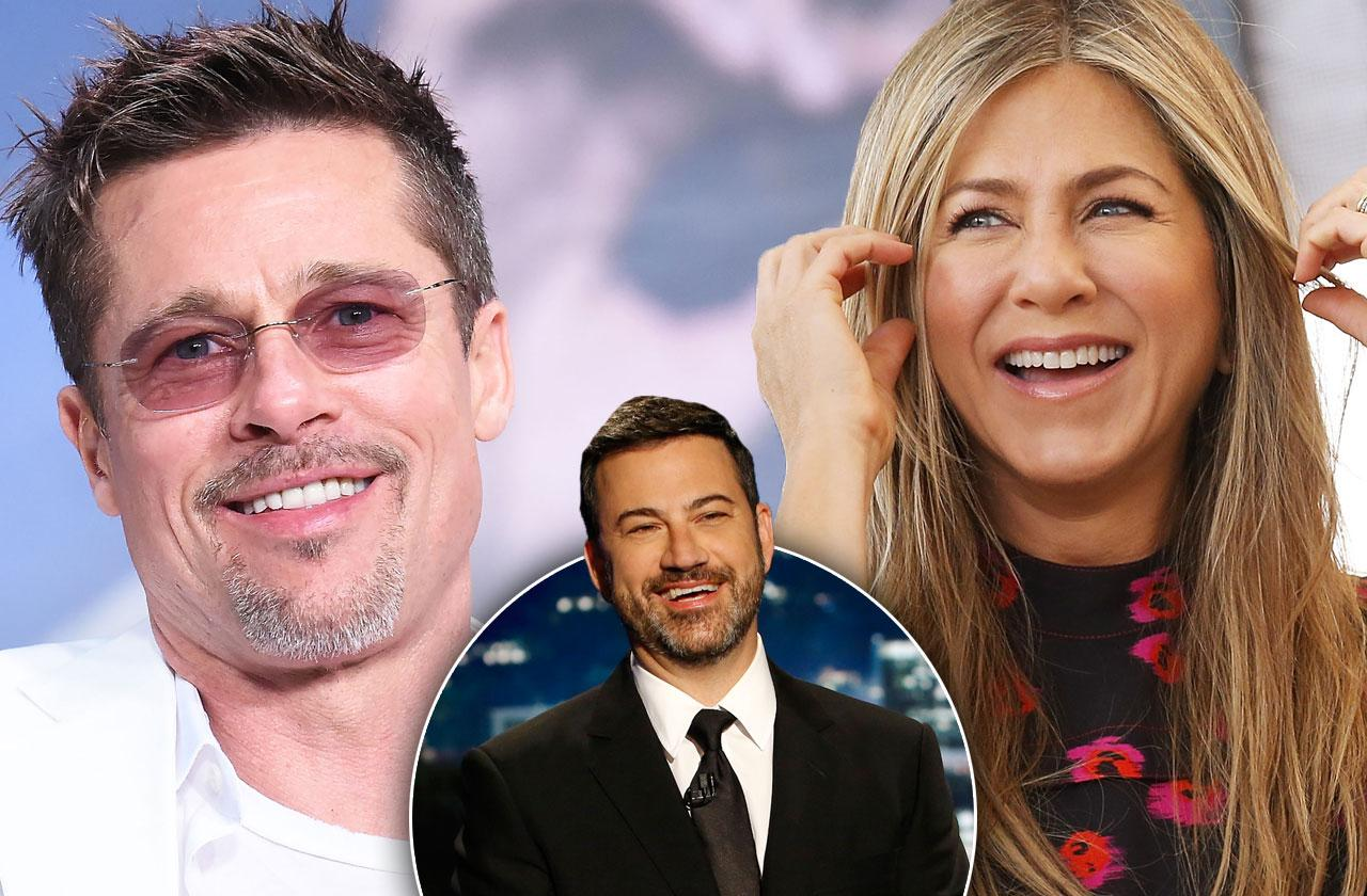 //brad pitt jennifer aniston interview jimmy kimmel pp