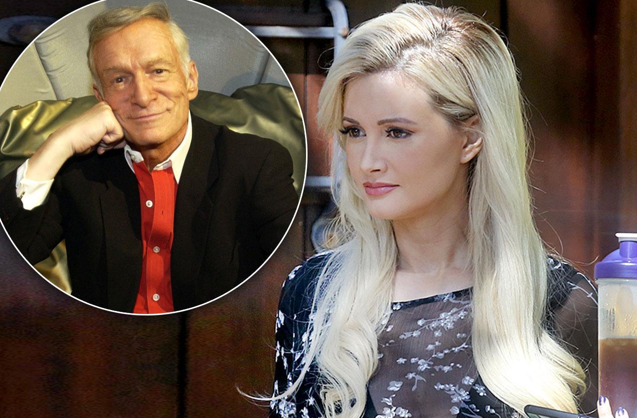Holly Madison Mourning Hugh Hefner Death