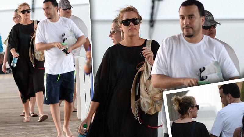 Khloe Kardashian & French Montana Key West Vacation