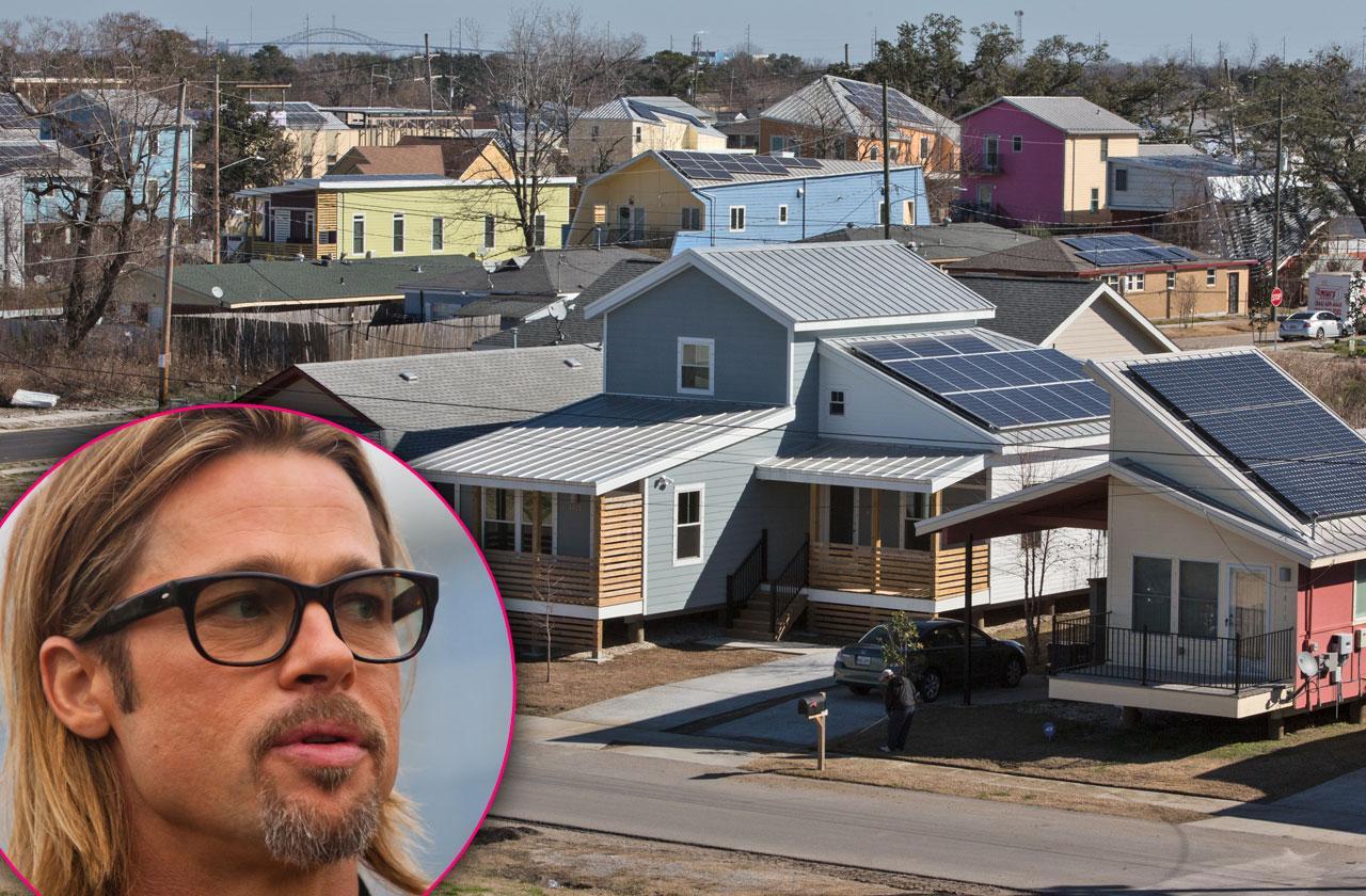 Brad Pitt Foundation Lawsuit Homes Katrina New Orleans