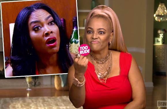 //Kenya moore kim fields fight gay claims pp