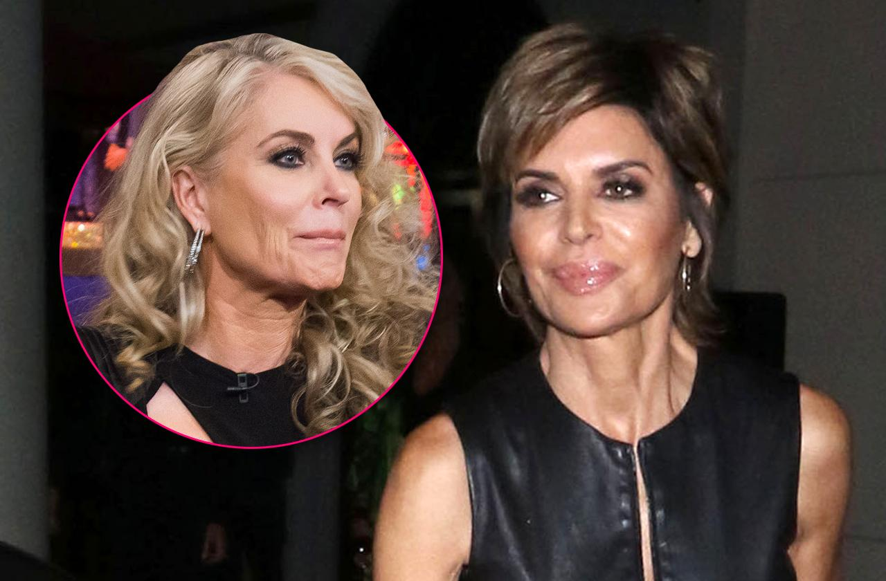 Lisa Rinna Says Eileen Davidson House Almost Burned Down