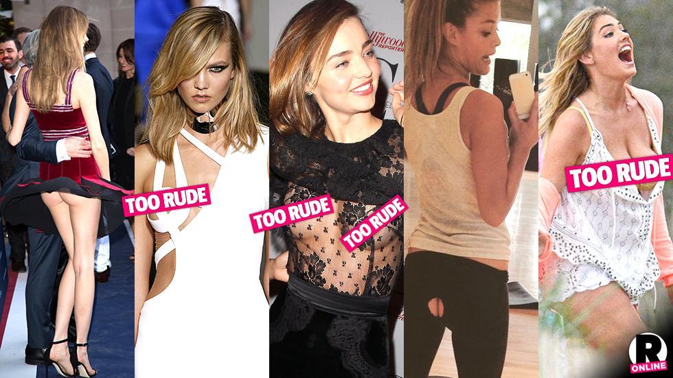 Models Wardrobe Malfunctions
