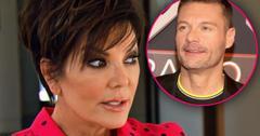 //Ryan Seacrest Hosting Live Kris Jenner Terrified PP
