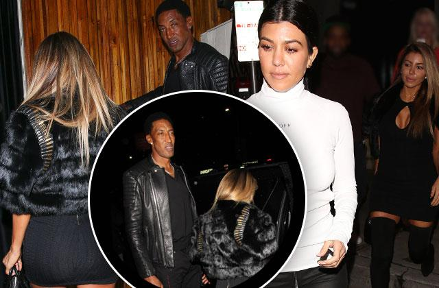 //kourtney kardashian bff larsa pippen scottie pippen divorce back together