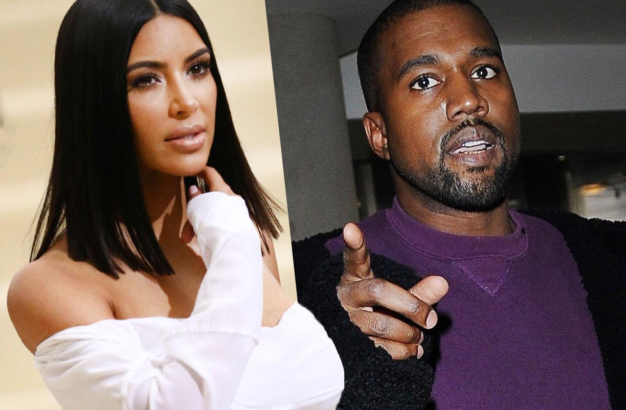 Kim Kardashian Kanye West Divorce Separated Leaves Town