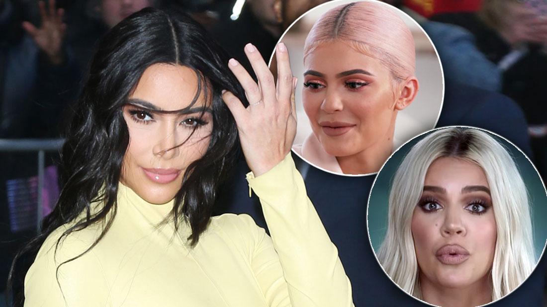 Kim Kardashian Debuts Light Brown Hair Color, Trolls Khloe, Kylie