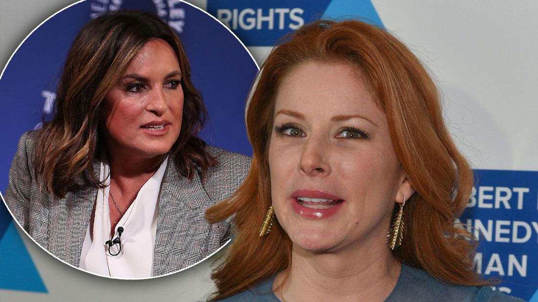 Law & Order's Diane Neal Allegedly Bad-Mouthed Mariska Hargitay
