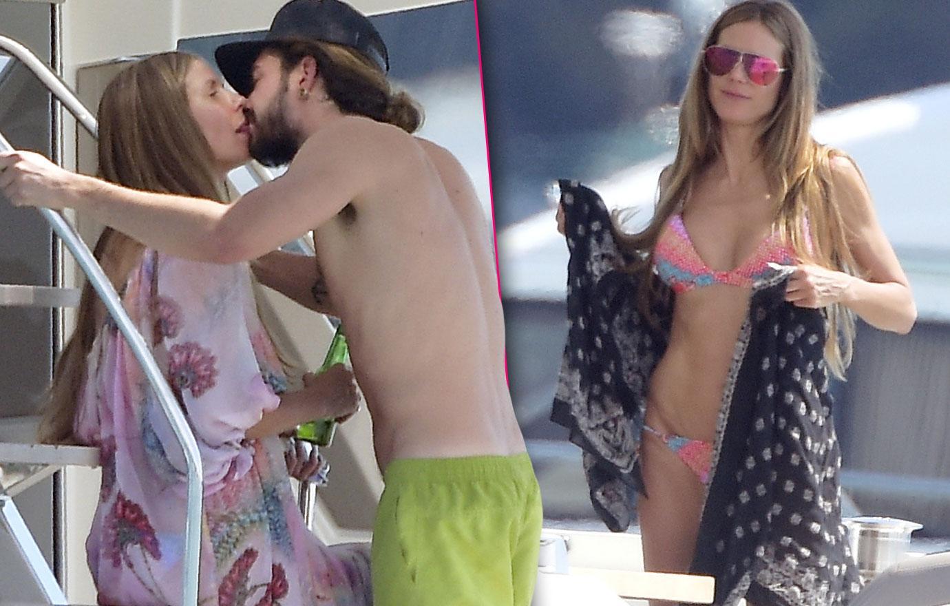 Heidi Klum Boytoy Tom Kaulitz Enjoy Bikini Boat Trip