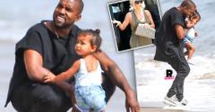 Kim Kardashian Bad Mom Claims Kanye West North Beach Playdate