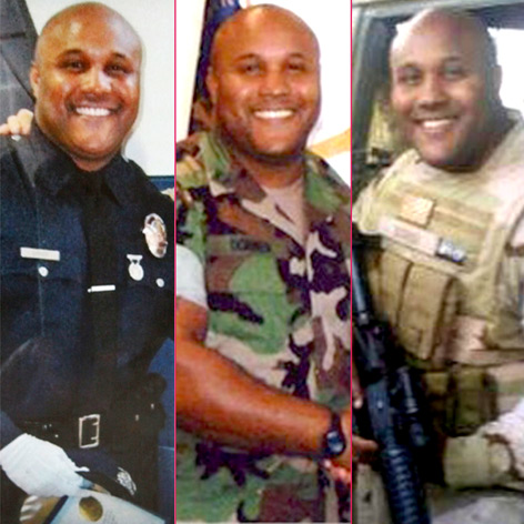 //christopher dorner lapd photos