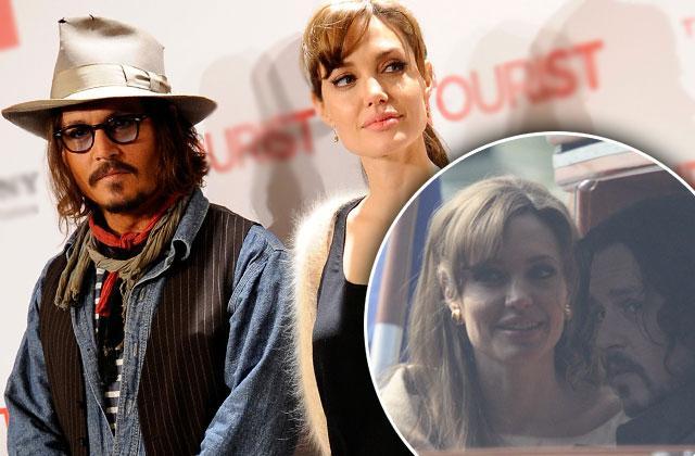 Johnny Depp Angelina Jolie Dating Rumors