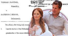 //thomas ravenel kathryn dennis custody battle southern charm fakery pp