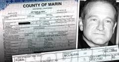 //robin williams death certificate suicide marin county pp sl