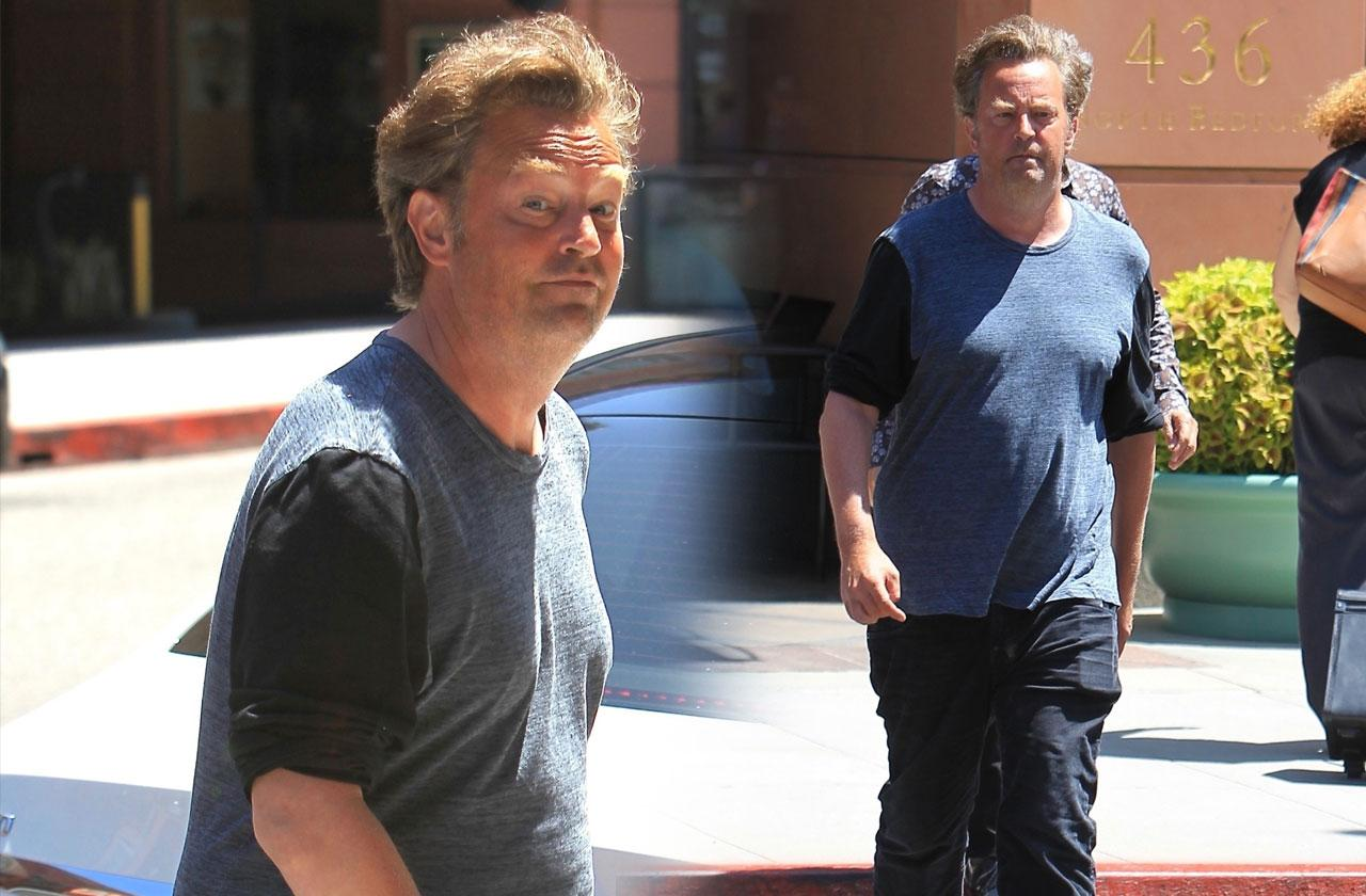 Matthew perry visits doctors office