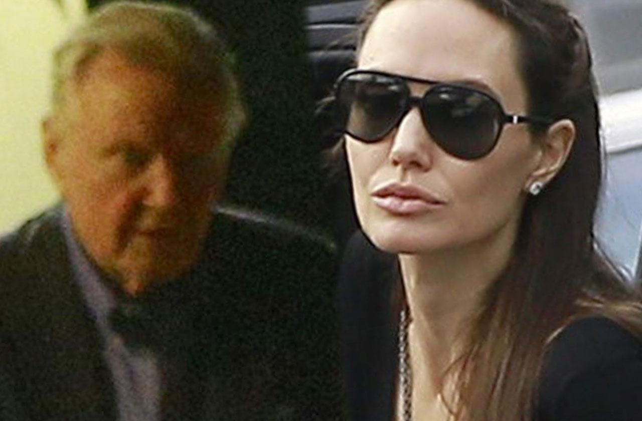 Angelina Jolie Kids Out With Dad Jon Voight Pics