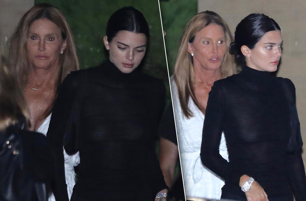 Kendall Caitlyn Jenner Dinner Family Drama