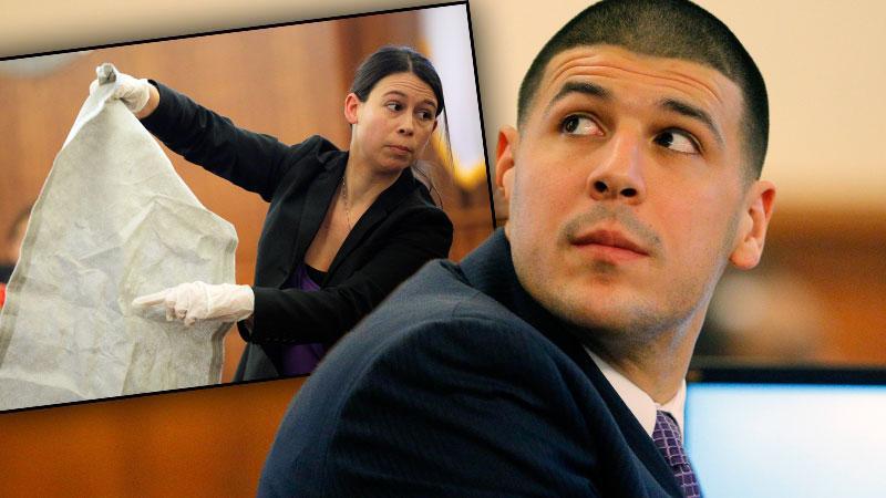//aaron hernandez murder trial mattress impression