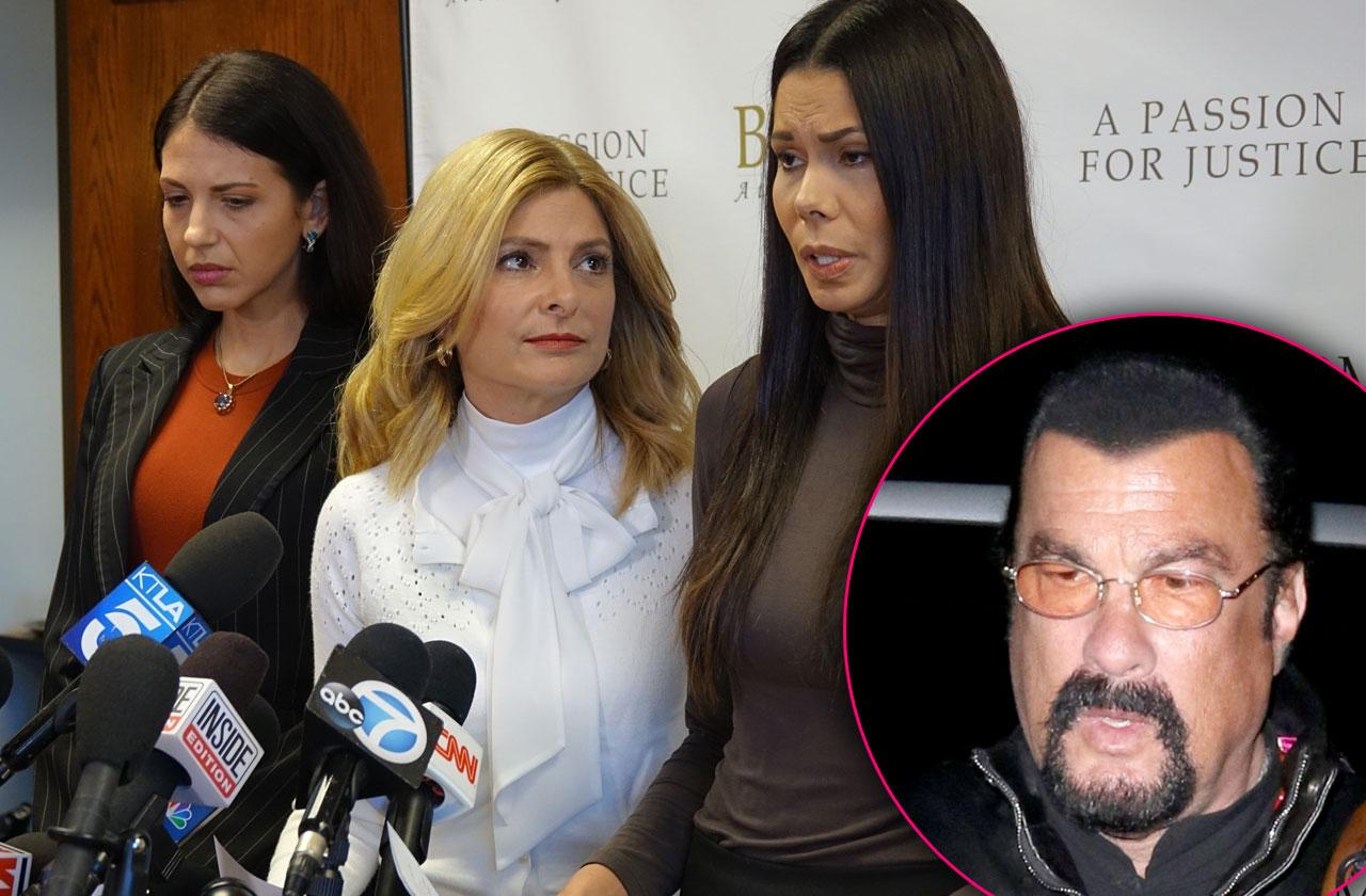 //steven seagal accused rape sexual assault two women pp