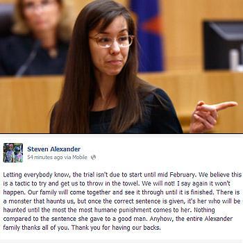 Jodi Arias trail february death penalty