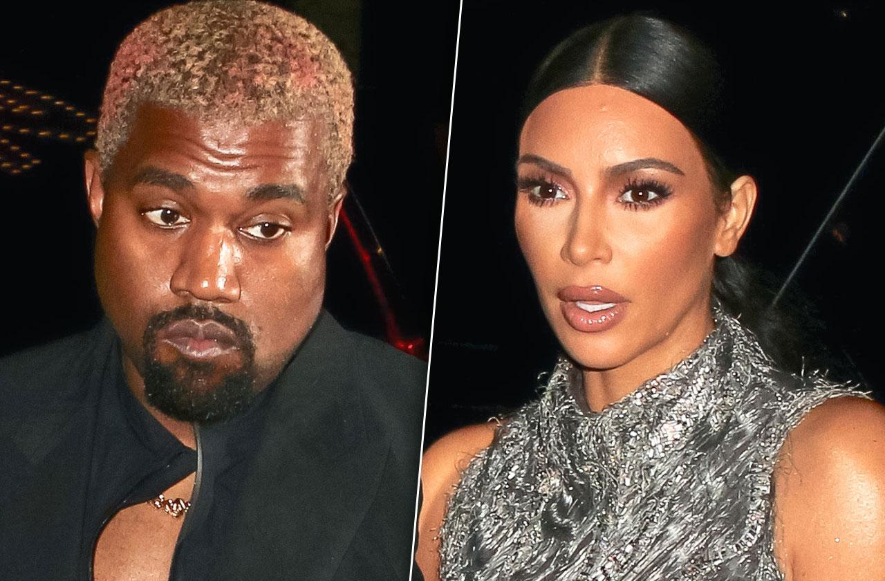 Kim Kardashian Divorce Kanye West Outbursts
