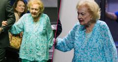 Frail Betty White Makes Rare Appearance