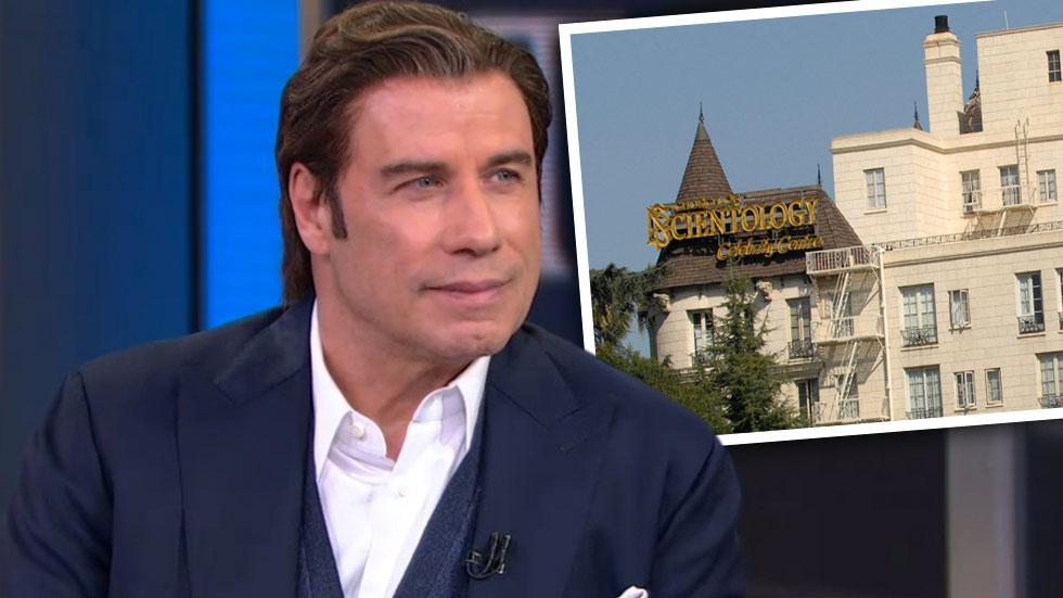 John Travolta 'Saved Lives' Scientology 'Going Clear'