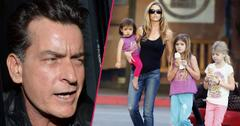 Charlie Sheen wants Denise out of his street