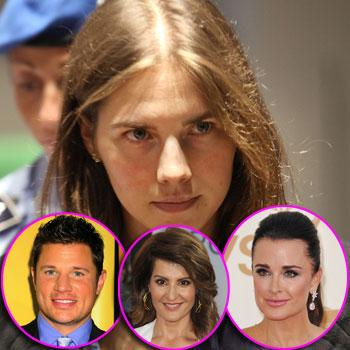 //amanda knox verdict nick lachey kyle richards nia vardalos