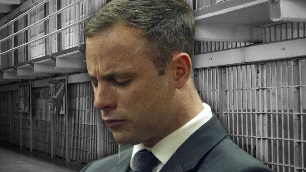 //oscar pistorius jail time