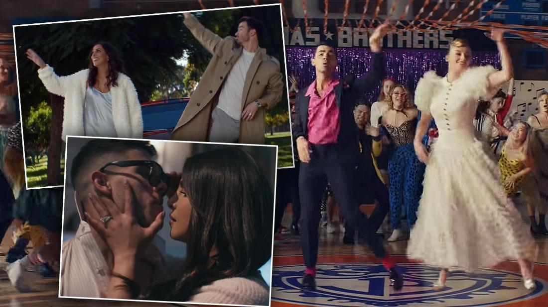Jonas Brothers' Wives Stun In 'What A Man Gotta Do' Music Video