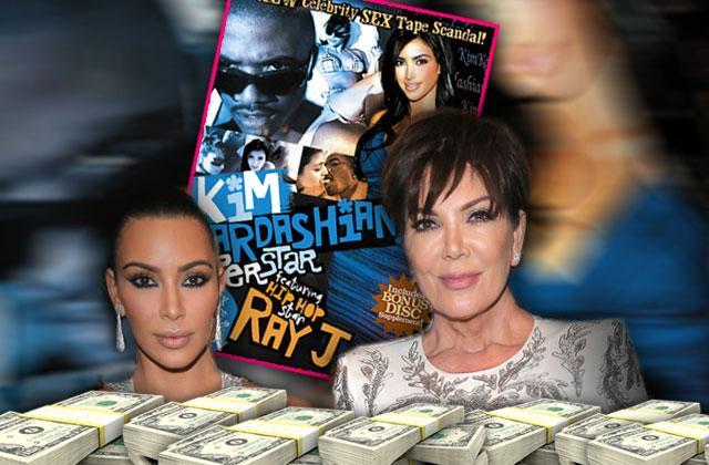//kim kardashian sex tape kris jenner deal vivid pp