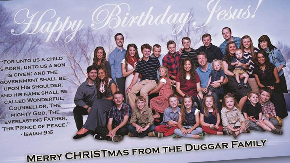 Duggar Christmas Card
