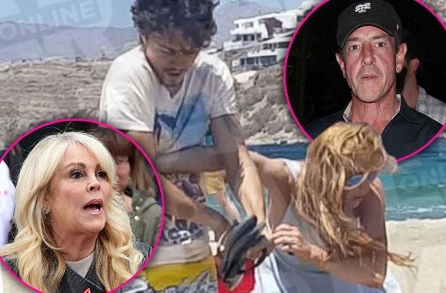 Lindsay Lohan Fight Fiance Egor Tarabasov Intervention
