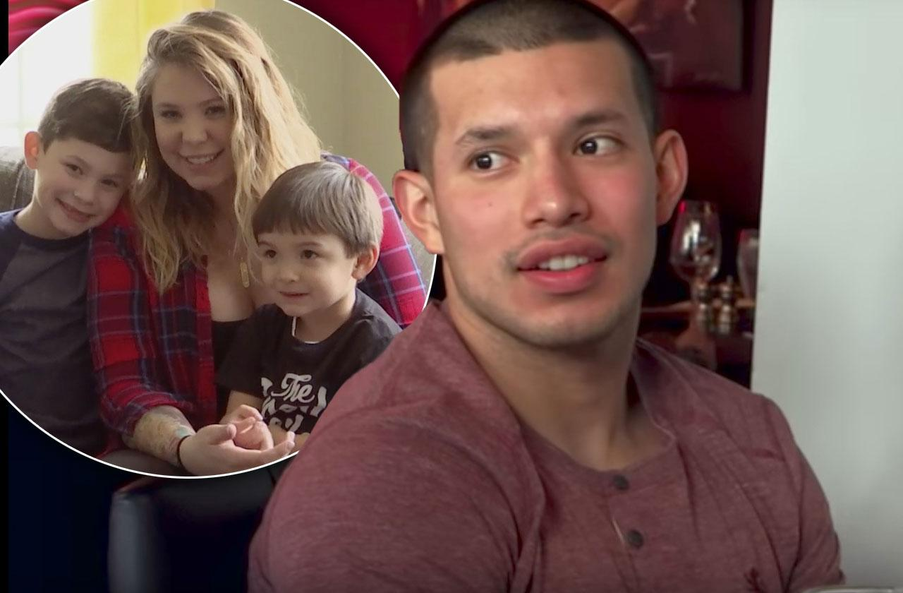 //javi marroquin getting back together kailyn lowry teen mom  pp