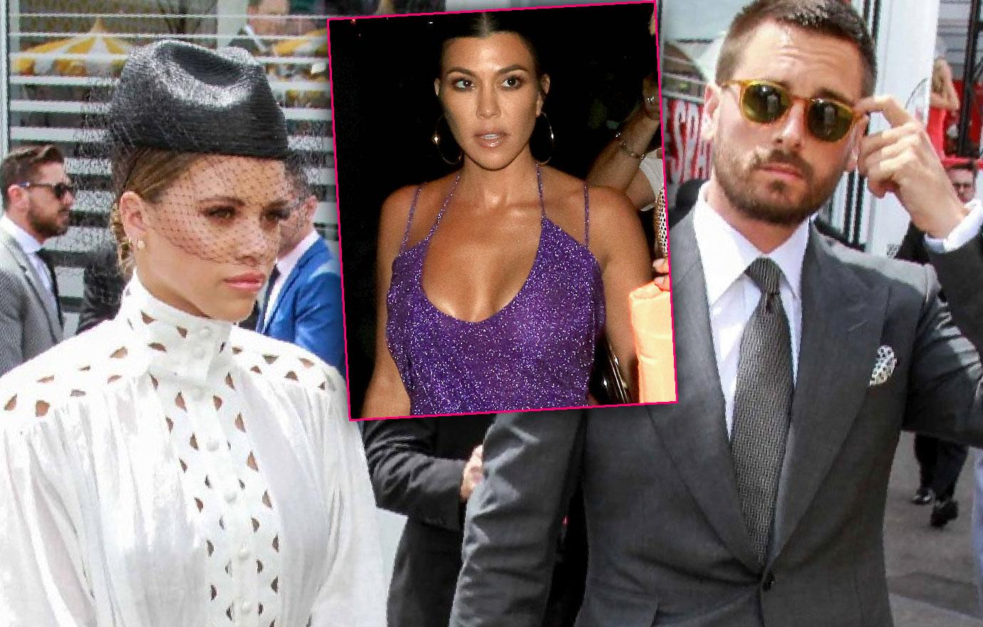 Scott Disick And Sofia Richie In Australia Kourtney-reunion- off