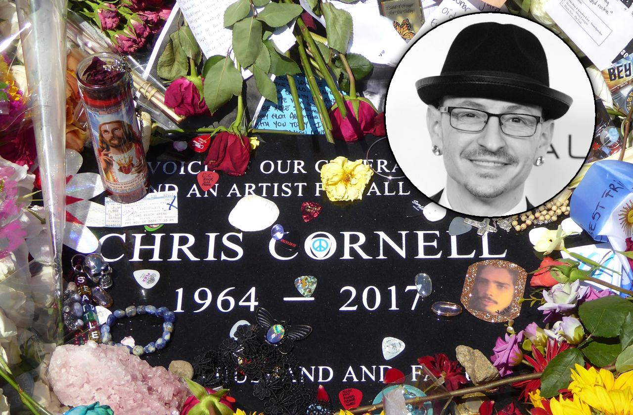 Chester Bennington Grave Next To Chris Cornell