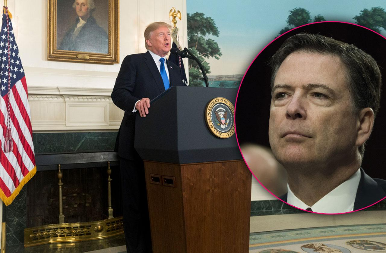 james comey describes meeting donald trump first time