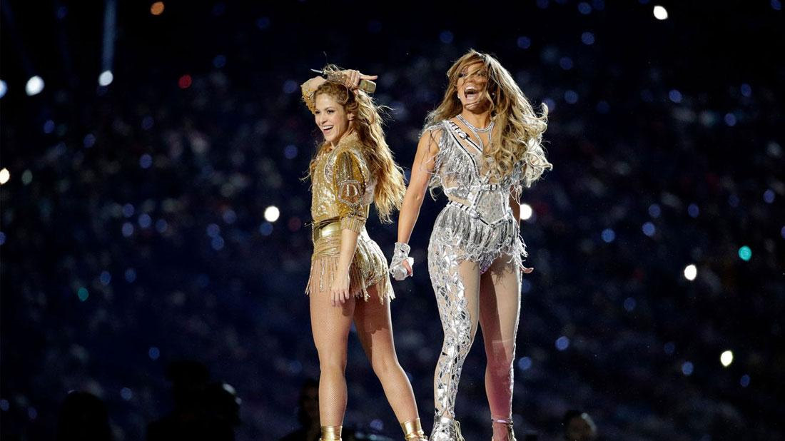 Super Bowl Halftime Show: Jennifer Lopez & Shakira Steam Up The Show