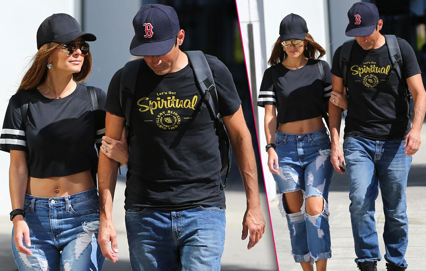 Maria Menounos Takes Stroll With Boyfriend After Brain Surgery