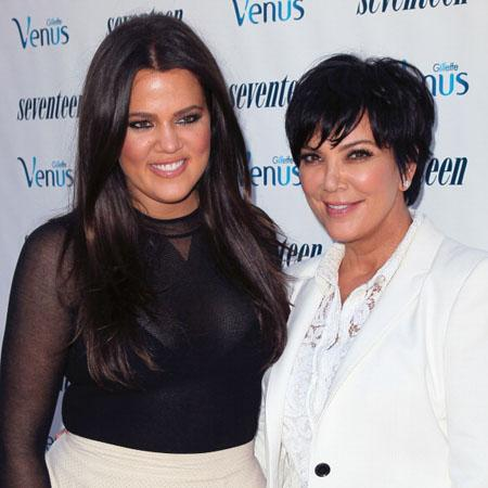 // personalities khloe kardashian and kris gettyimages