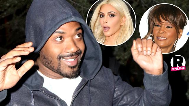 Ray J Slams Kim Kardashian Whitney Houston In Recording