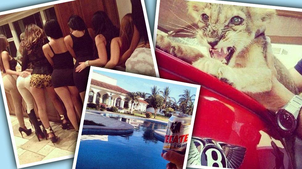 //el chapo drug cartel family instagram battle