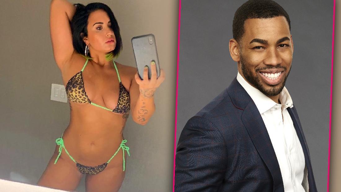 Demi Lovato Bikini Instagram Photo at Coachella 2018