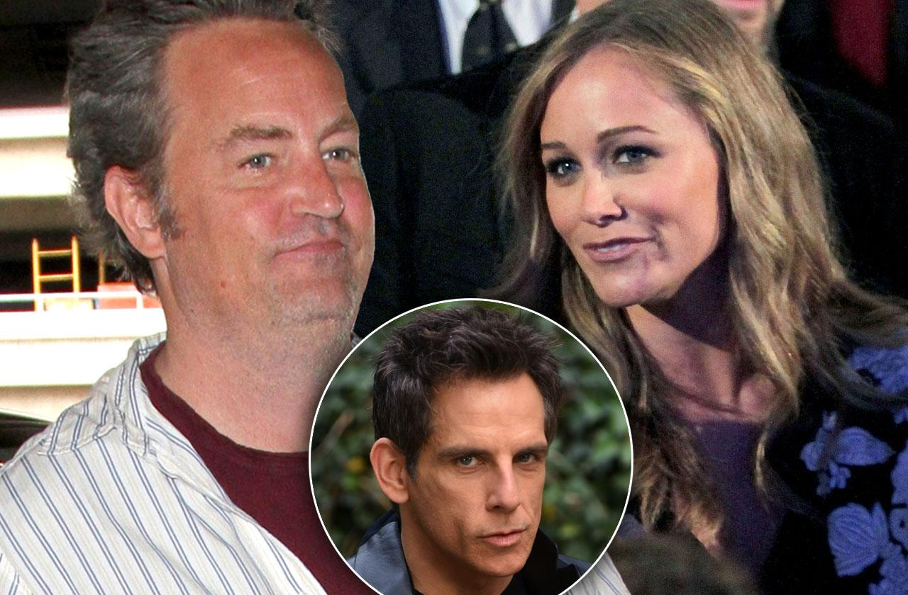//matthew perry secret lover christine taylor divorce ben stiller pp