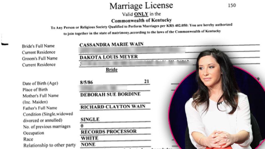 Bristol Palin Fiance Married