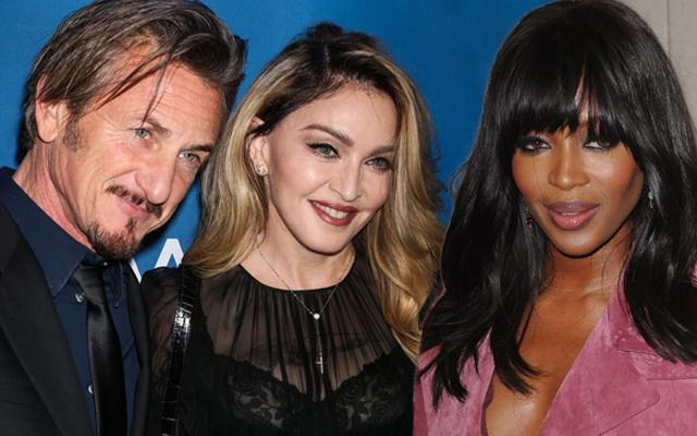 Madonna Sean Penn & Naomi Campbell Secret Love Triangle Affair