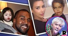 Miley Cyrus Posts Photoshopped Instragram Pics Of North West